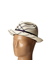 CARLOS by Carlos Santana - Shantung with Pattern Pinch Front Fedora