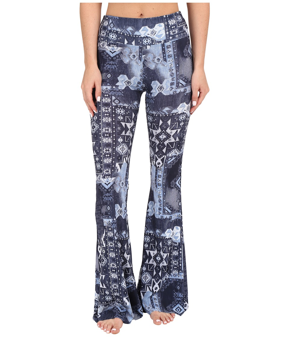 Onzie Bell Pants Azul Womens Casual Pants