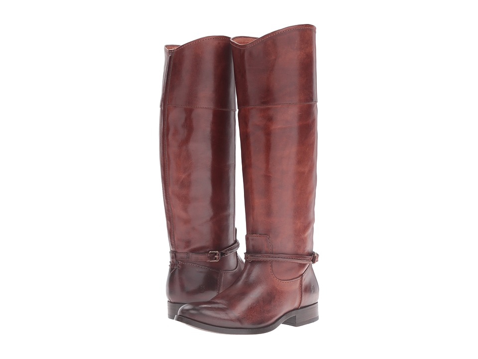 Frye Melissa Seam Tall (Brown Vintage Veg Tan) Women