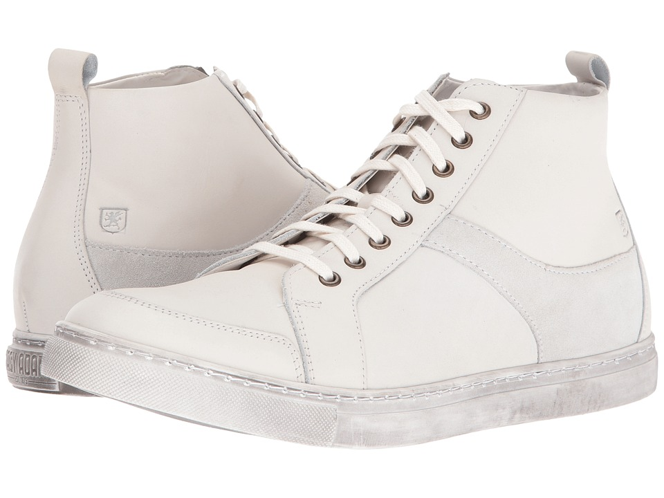 Stacy Adams Winchell Moc Toe Lace Boot (White) Men