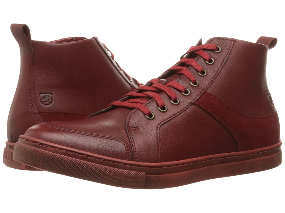 Stacy Adams Winchell Moc Toe Lace Boot (Cherry) Men