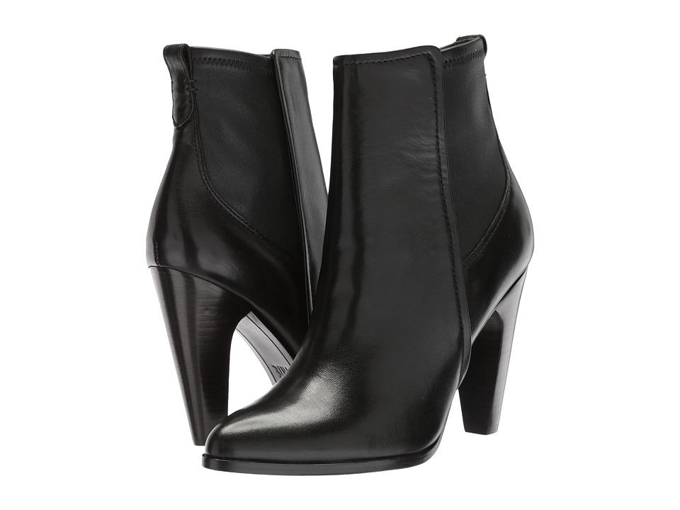 Frye - Roxanne Stretch Short (Black Soft Lamb) Womens Pull-on Boots