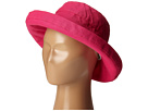 SCALA Cotton Big Brim (Toddler/Little Kid) (Fuchsia)
