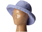 SCALA Cotton Big Brim (Toddler/Little Kid) (Periwinkle)