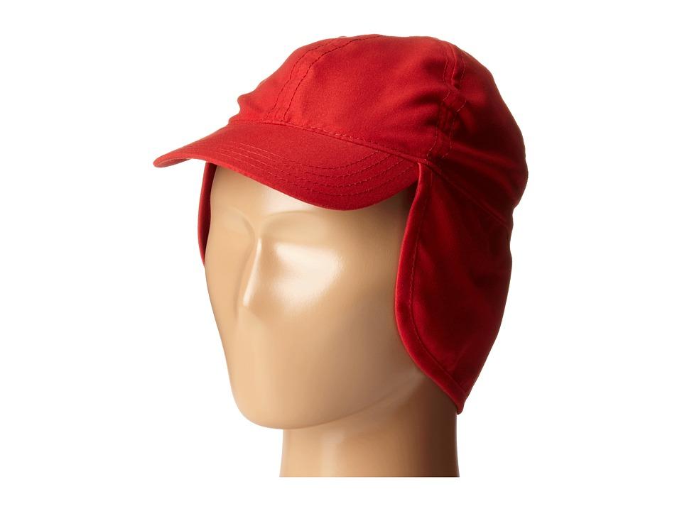 SCALA Flap Cap Infant Red Caps