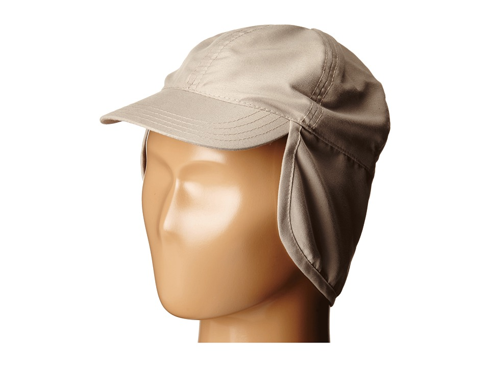 SCALA Flap Cap Infant Khaki Caps