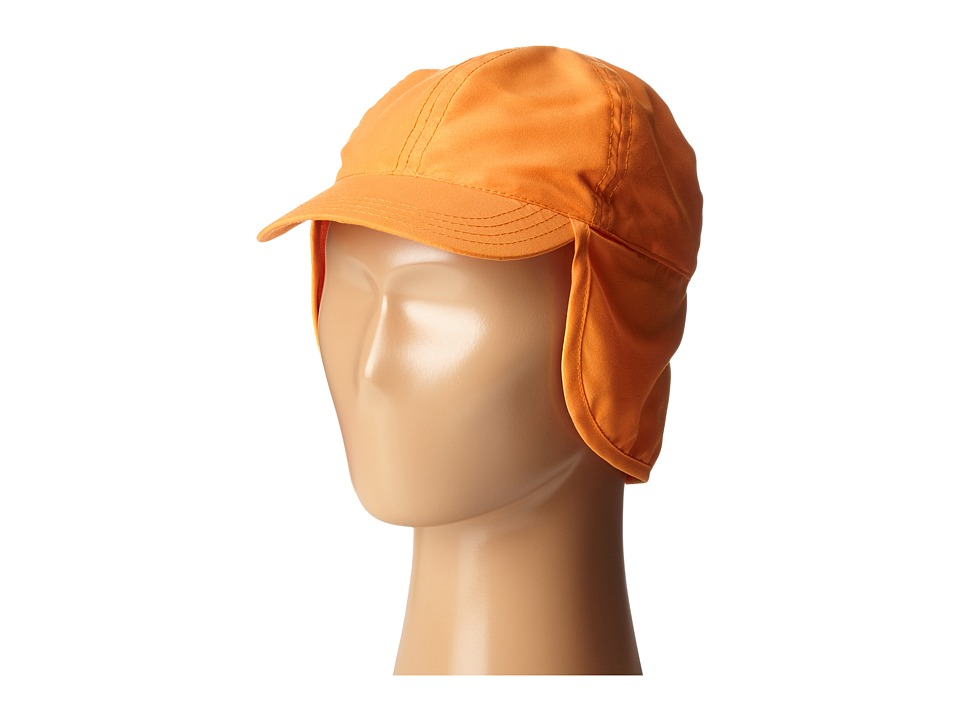 SCALA Flap Cap Infant Orange Caps