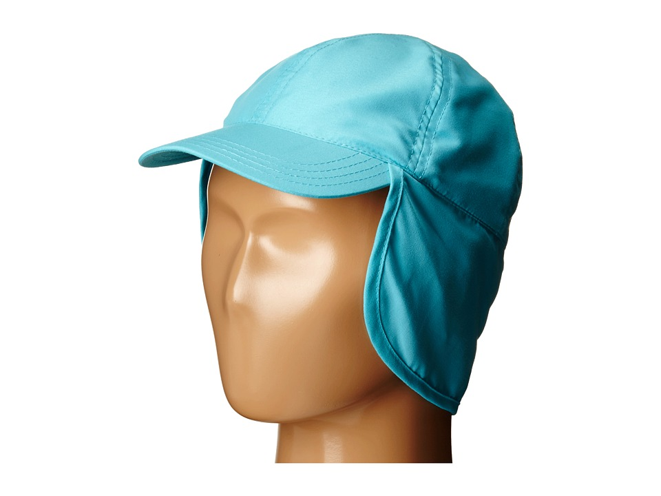 SCALA Flap Cap Infant Turquoise Caps