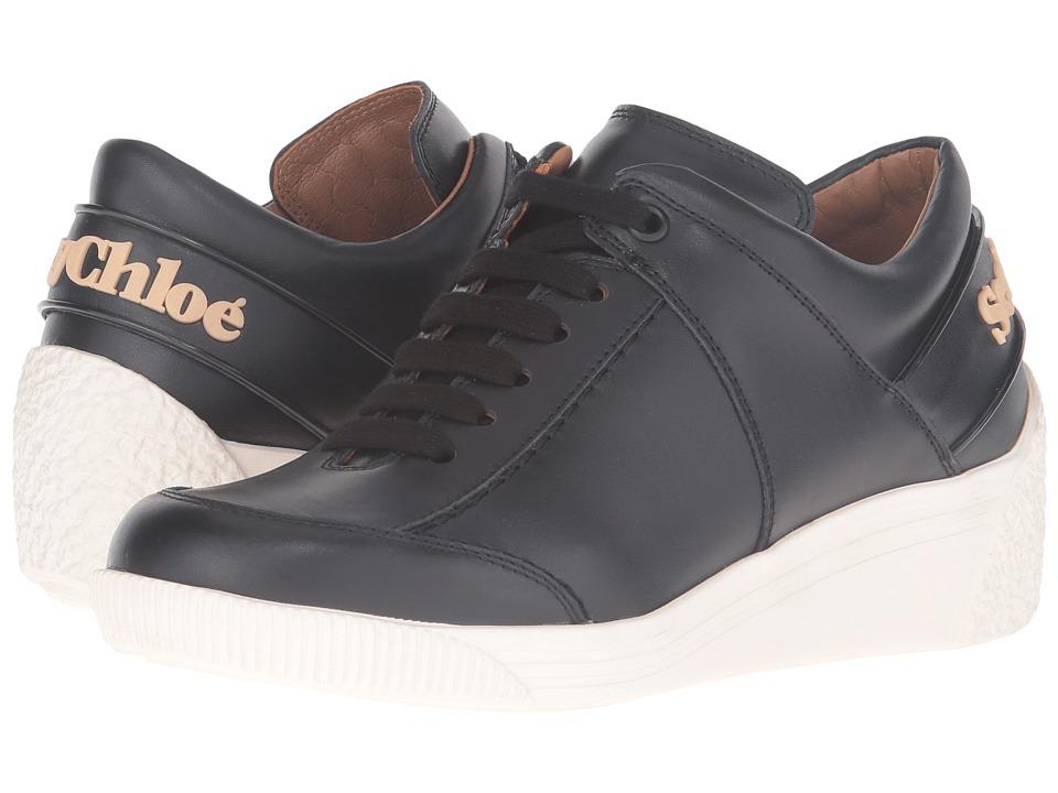 See by Chloe SB27160 (Nero Sneaker Calf) Women