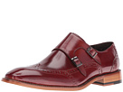 Stacy Adams Brewster Double Monk Strap Wingtip
