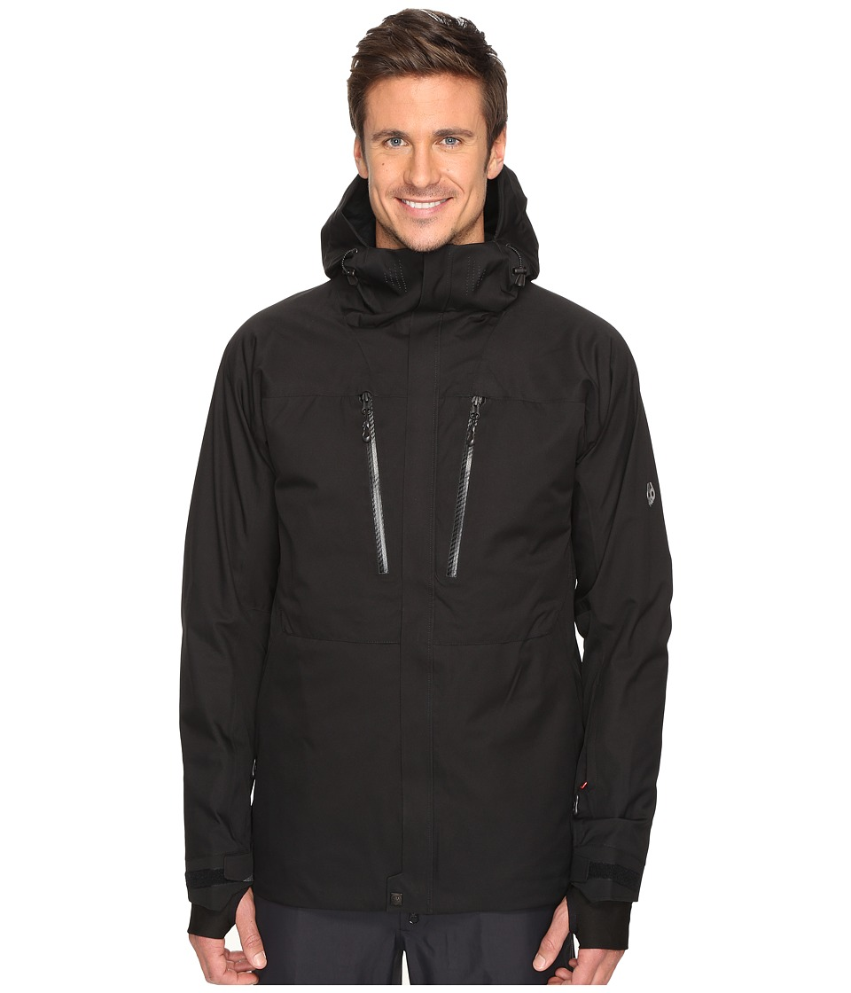 686 GLCR Ether Thermagraph Down Jacket (Black) Men