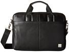 KNOMO London Stanford Slim Laptop Briefcase (Black)