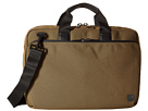 KNOMO London Maxwell Slim Laptop Briefcase (Deep Army Green)