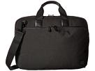 KNOMO London Maxwell Slim Laptop Briefcase (Black)