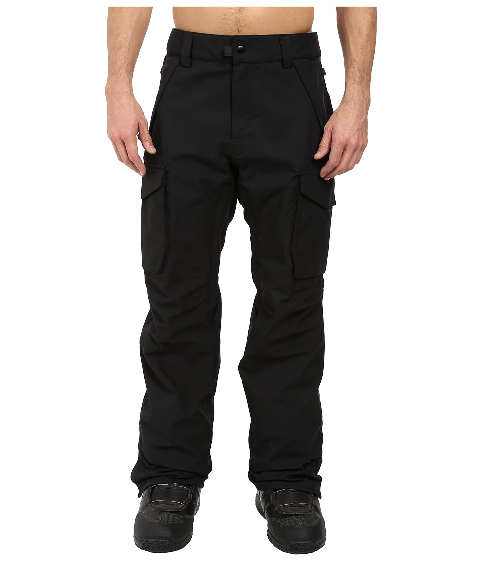 Image of 686 - Authentic Infinity Shell Cargo Pants (Black) Men's Casual Pants
