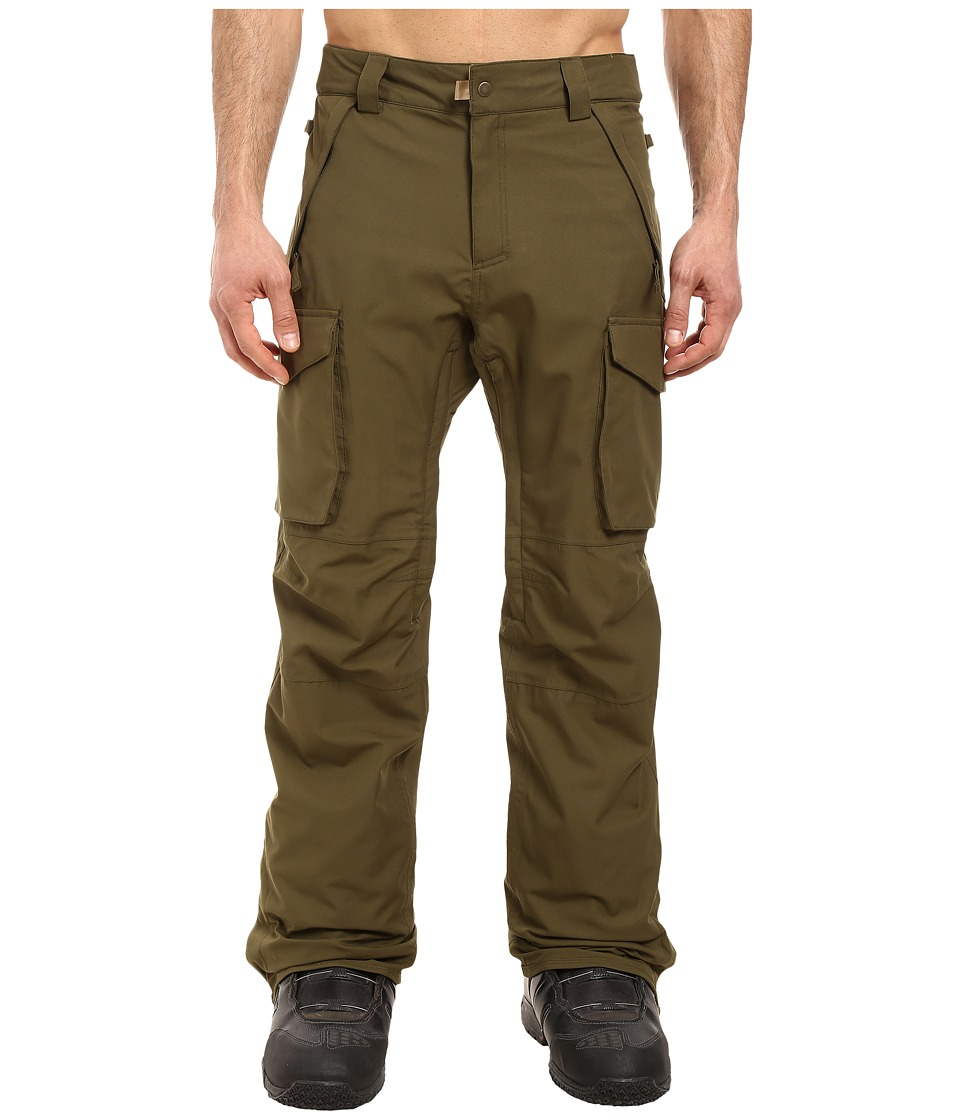 686 Authentic Infinity Shell Cargo Pants (Olive) Men