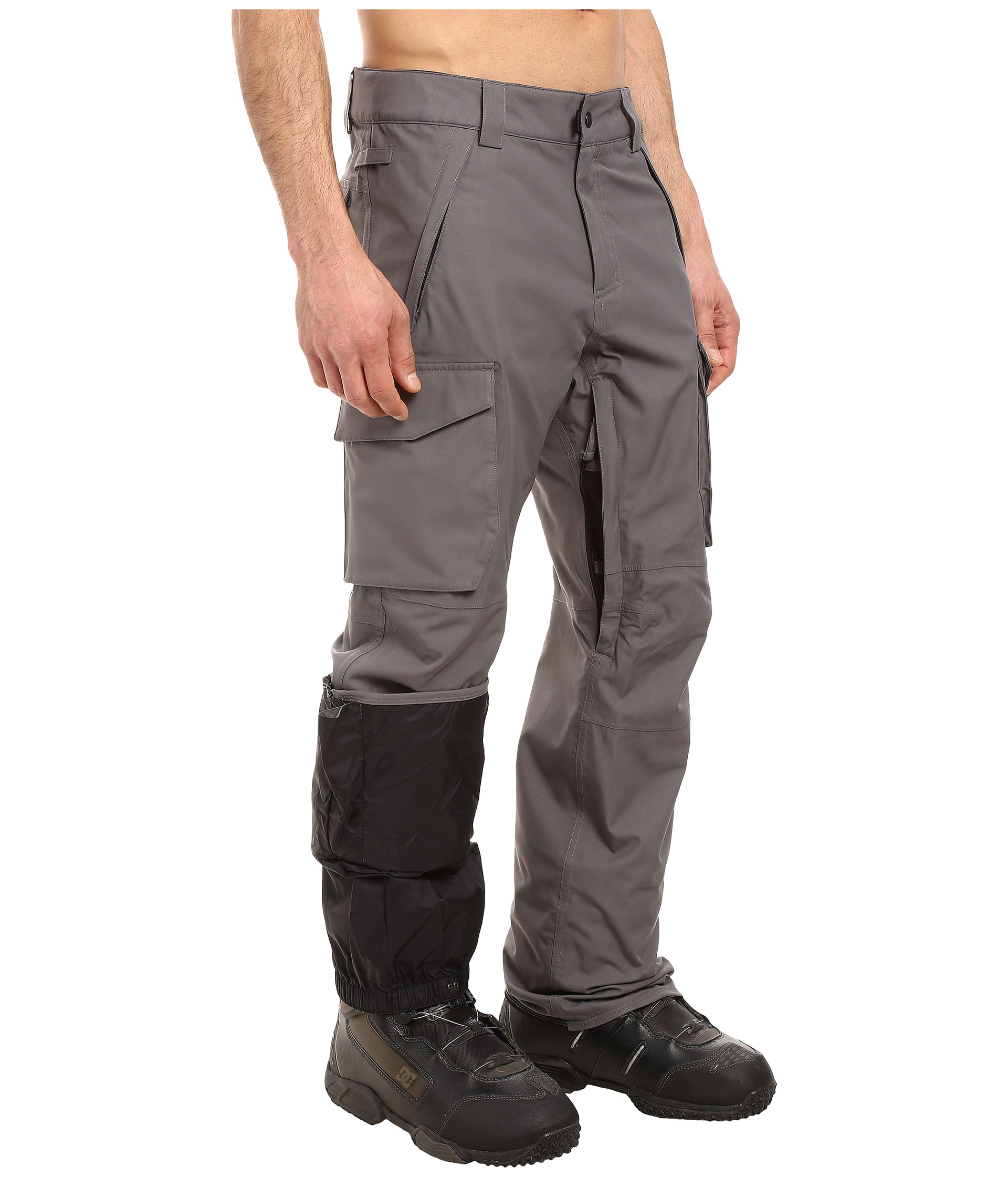 686 Authentic Infinity Shell Cargo Pants Steel
