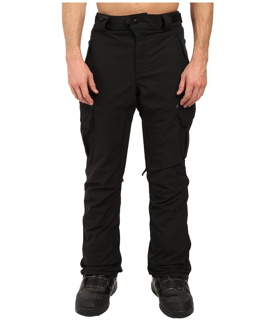 686 Authentic Smarty Cargo Pants (Black Short) Men