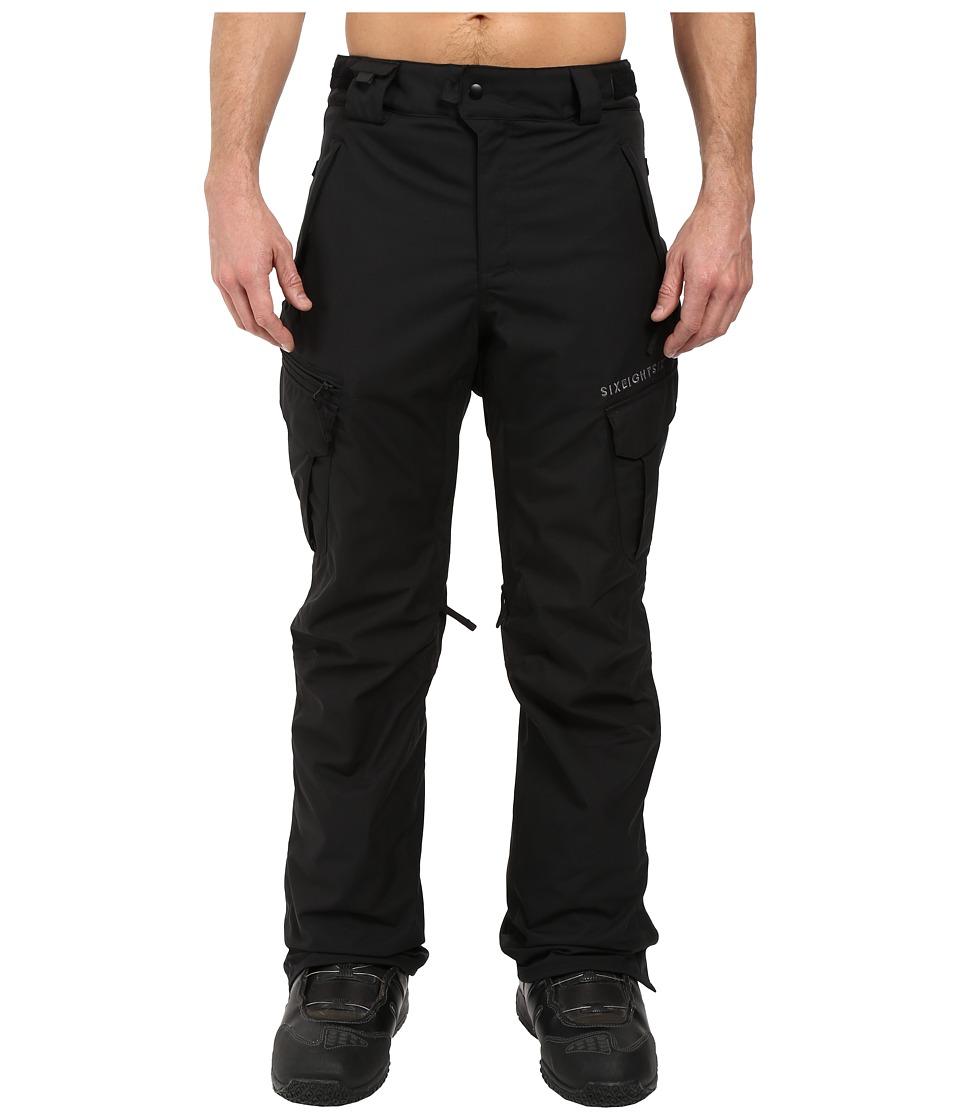 686 Authentic Smarty Cargo Pants (Black 1) Men