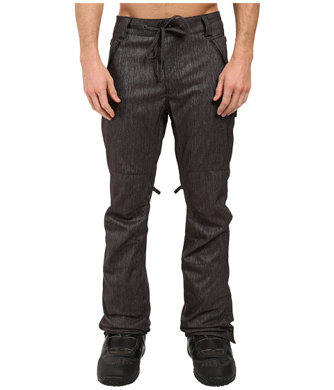 686 Parklan Triple Black Pants - Black Denim