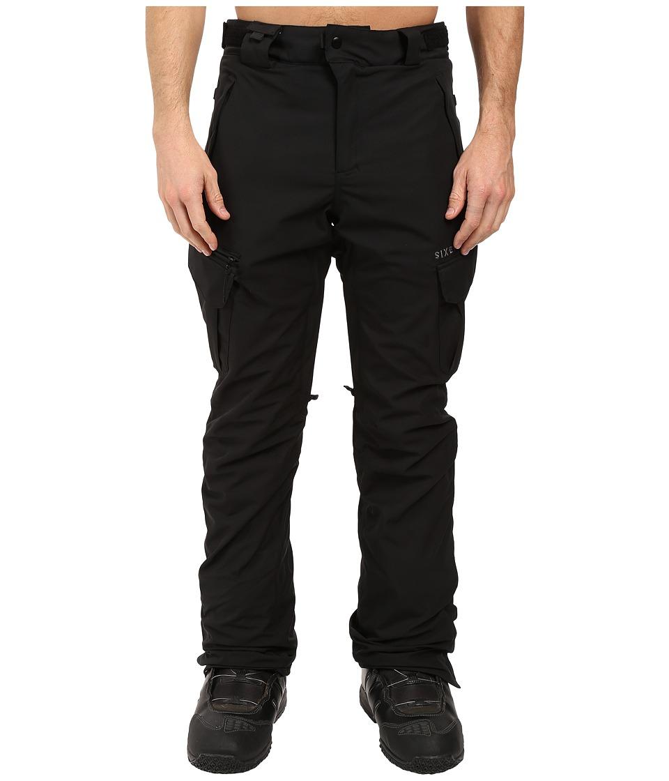 686 Authentic Smarty Cargo Pants (Black Long) Men