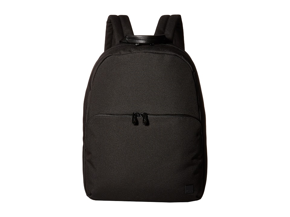 KNOMO London - Hanson Laptop Backpack (Black) Backpack Bags