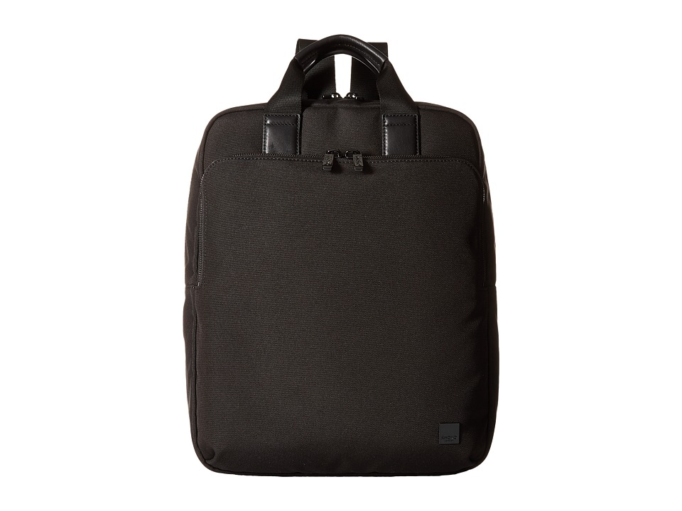 KNOMO London - James Laptop Tote Backpack (Black) Backpack Bags