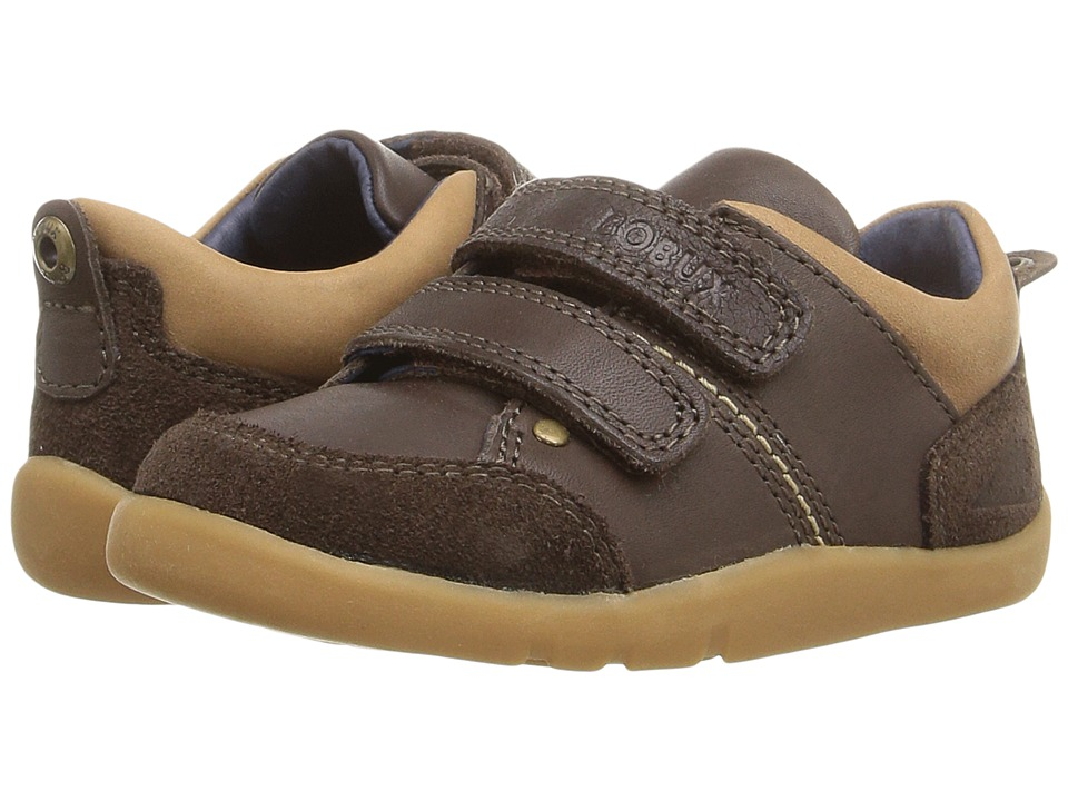 Bobux Kids I-Walk Switch (Toddler) (Espresso Brown) Boy's Shoes