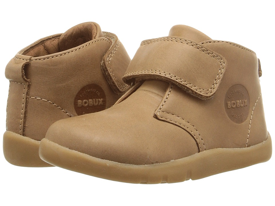 Bobux Kids I-Walk Desert (Toddler) (Caramel Brown) Boy's Shoes