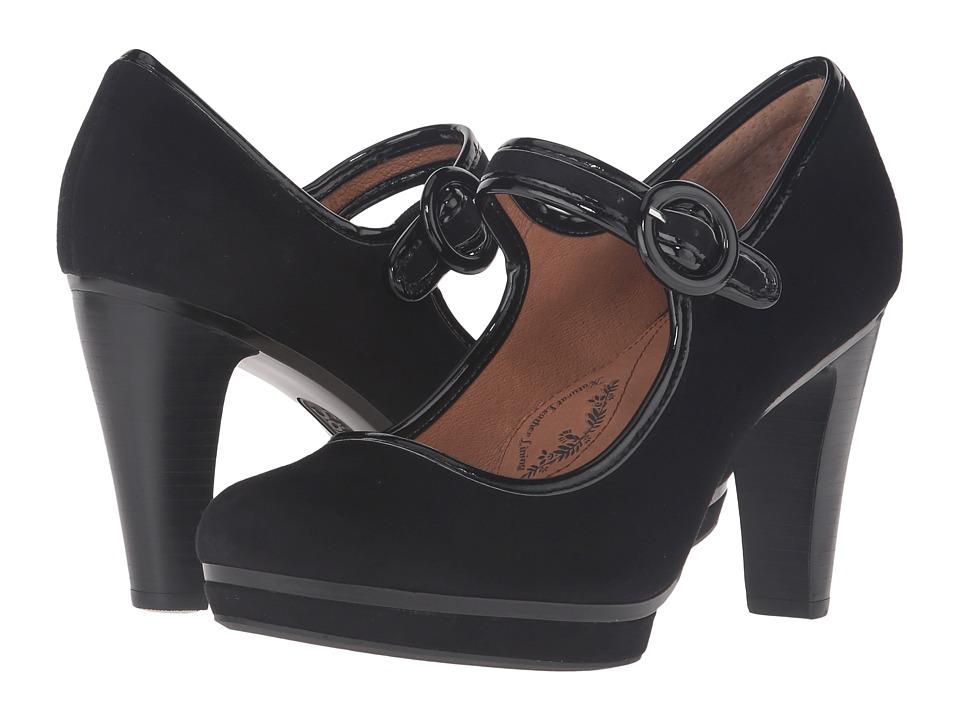 Sofft - Monique (Black King Suede) High Heels