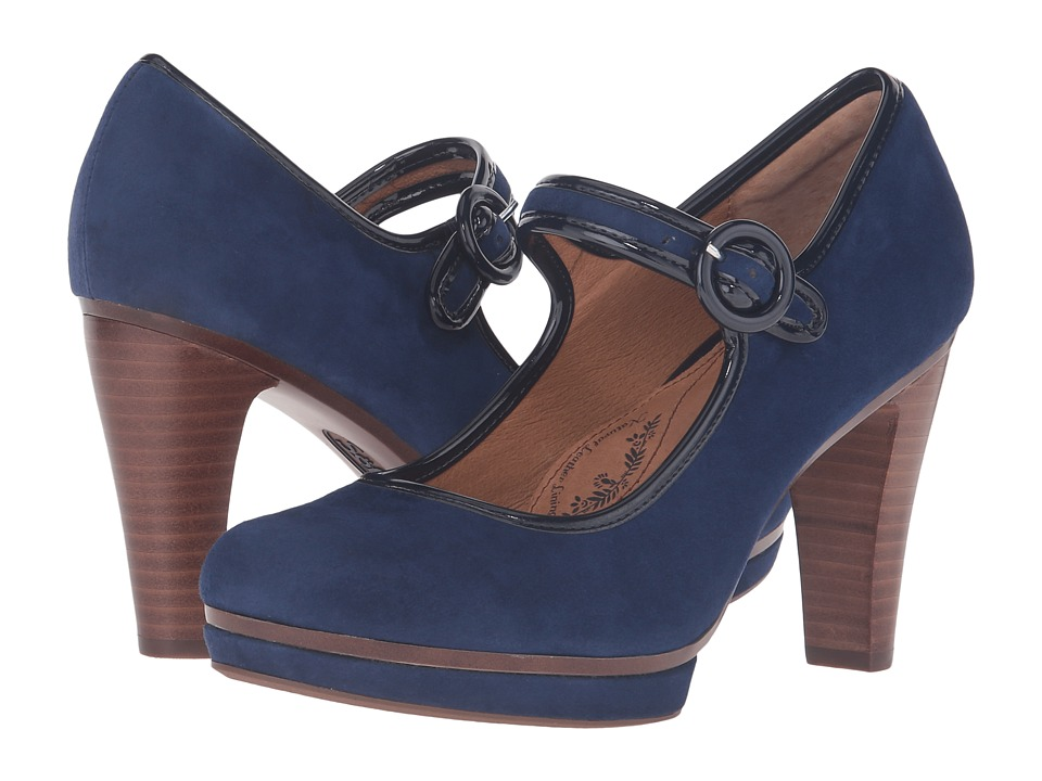 Sofft Monique (Peacoat Navy King Suede) High Heels