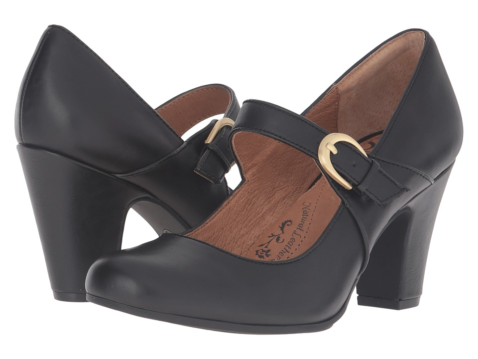 Sofft - Miranda (Black Cow Quilin) High Heels