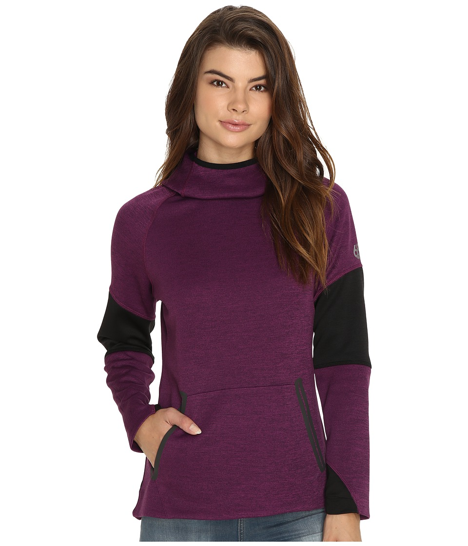 686 GLCR Storm Tech Pullover Fleece (Mulberry Heather) Women