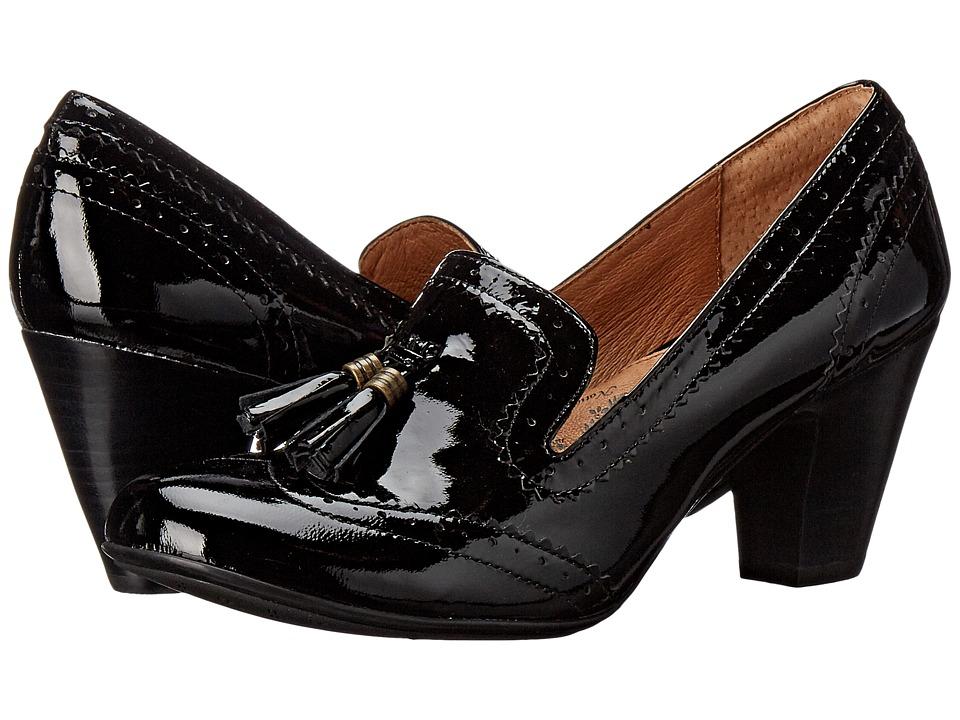 Sofft Opal (Black Goat Patent) High Heels