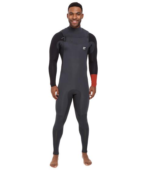 Billabong 4/3 Revolution Tri Bong Long Sleeve Chest Zip Wetsuit