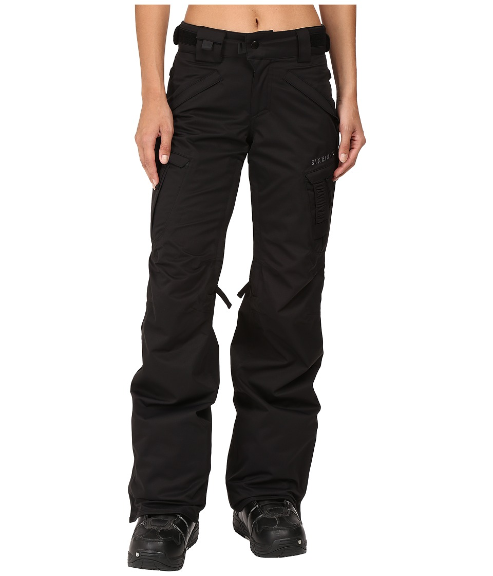686 Authentic Smarty Cargo Pant (Black Tall) Women
