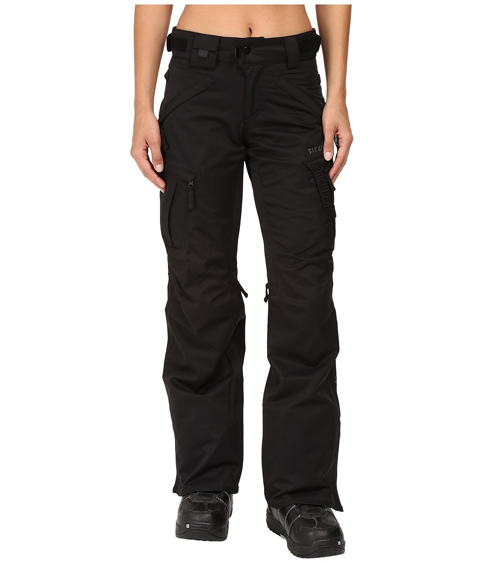 686 Authentic Smarty Cargo Pant (Black 1) Women