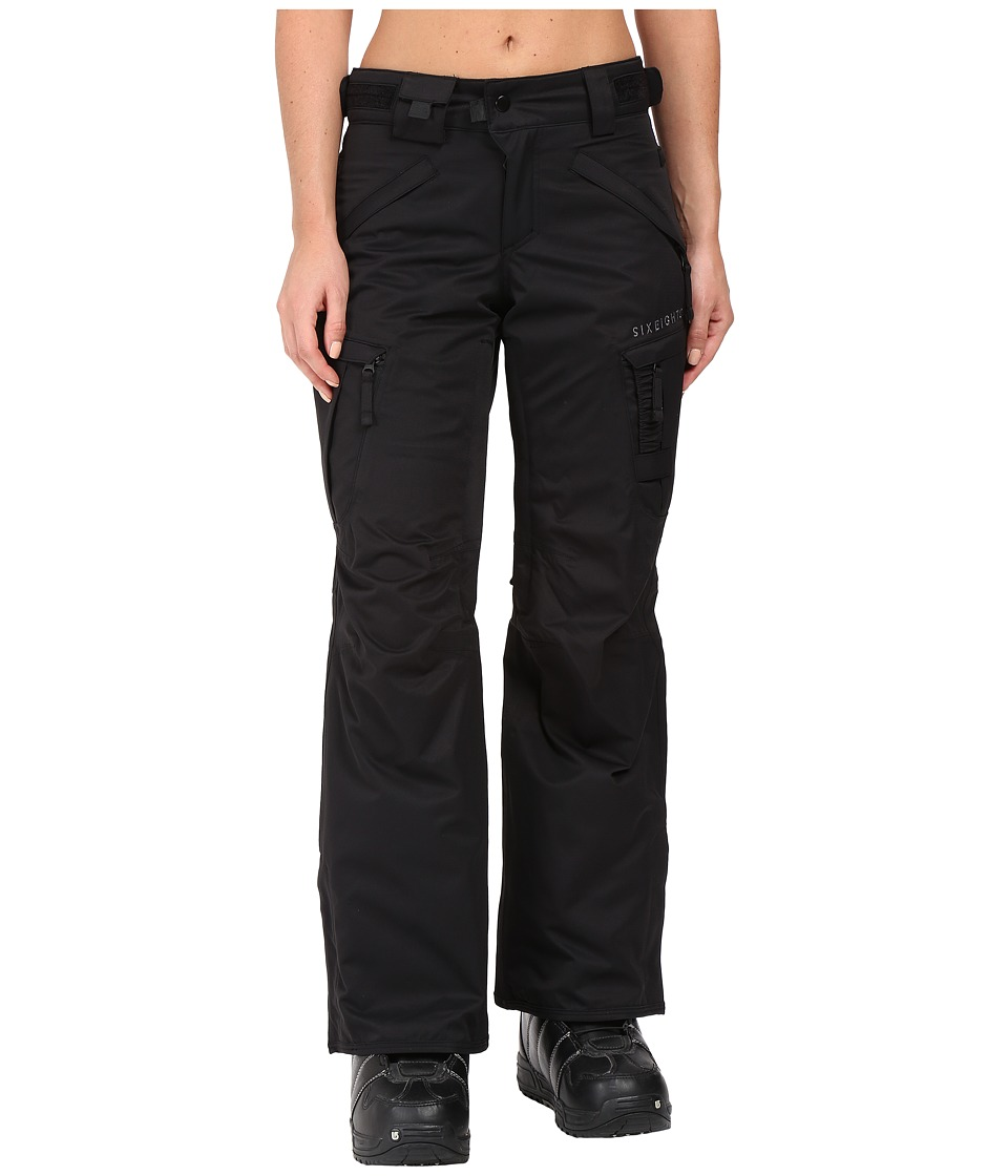 686 Authentic Smarty Cargo Pant (Black Short) Women