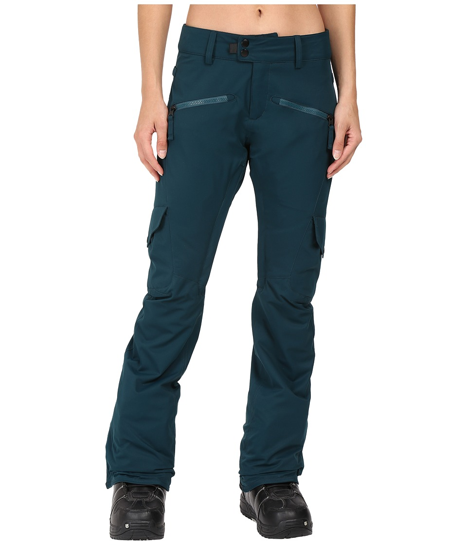 686 Authentic Mistress Insulated Cargo Pants (Black Jade) Women