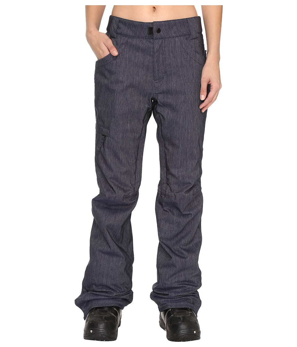Image of 686 - Authentic Patron Insulated Pants (Midnight Blue Denim) Women's Casual Pants