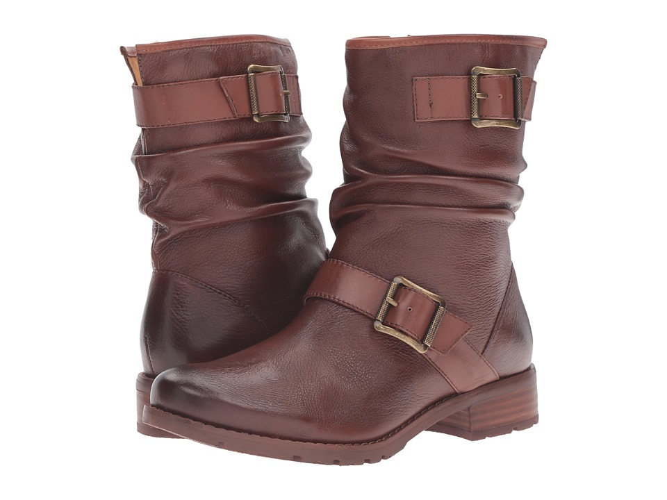 Sofft - Saxton (Whiskey/Cymbal Tan Cow Floater/M-Vege) Women