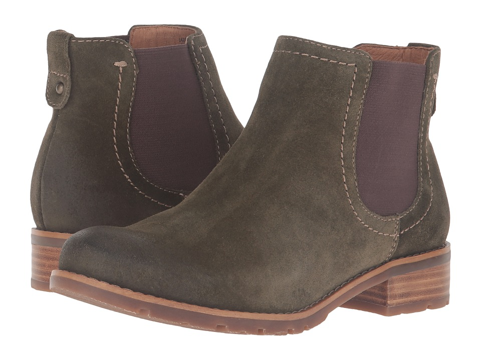 Sofft - Selby (Olive Alaska Cow Suede) Women