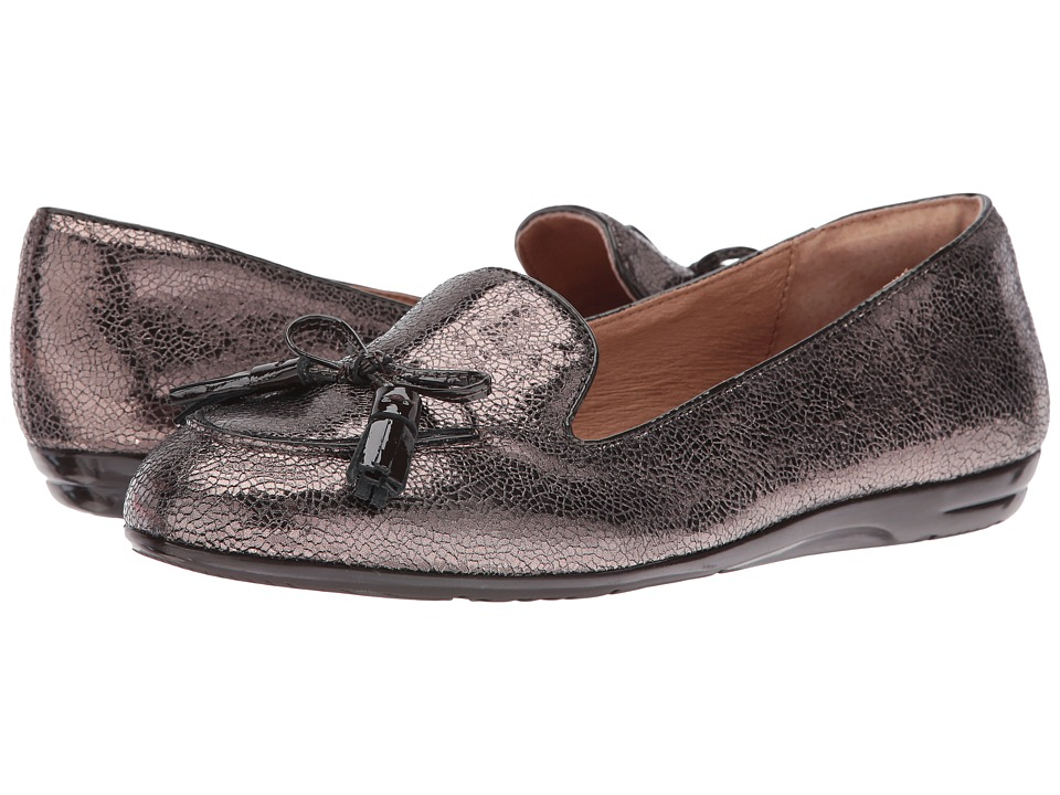 Sofft - Novato (Copper/Coffee Cracked Metal Kid Suede/Patent) Women