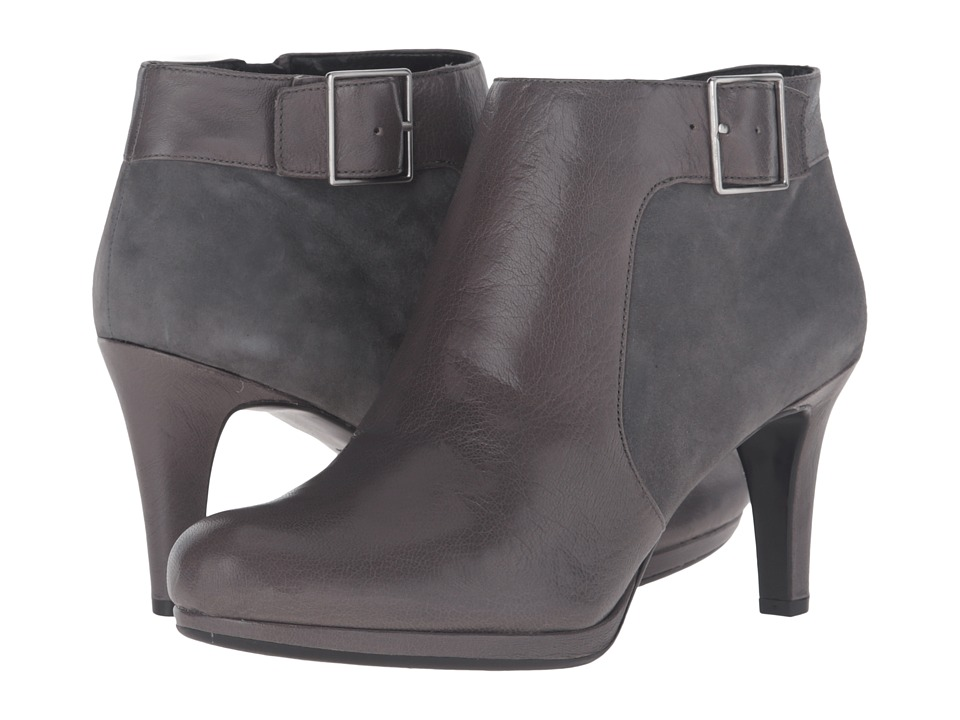 Naturalizer - Maureen (Graphite Lead Leather/Suede) Women