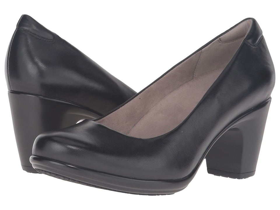 Naturalizer Venecia (Black Leather) High Heels