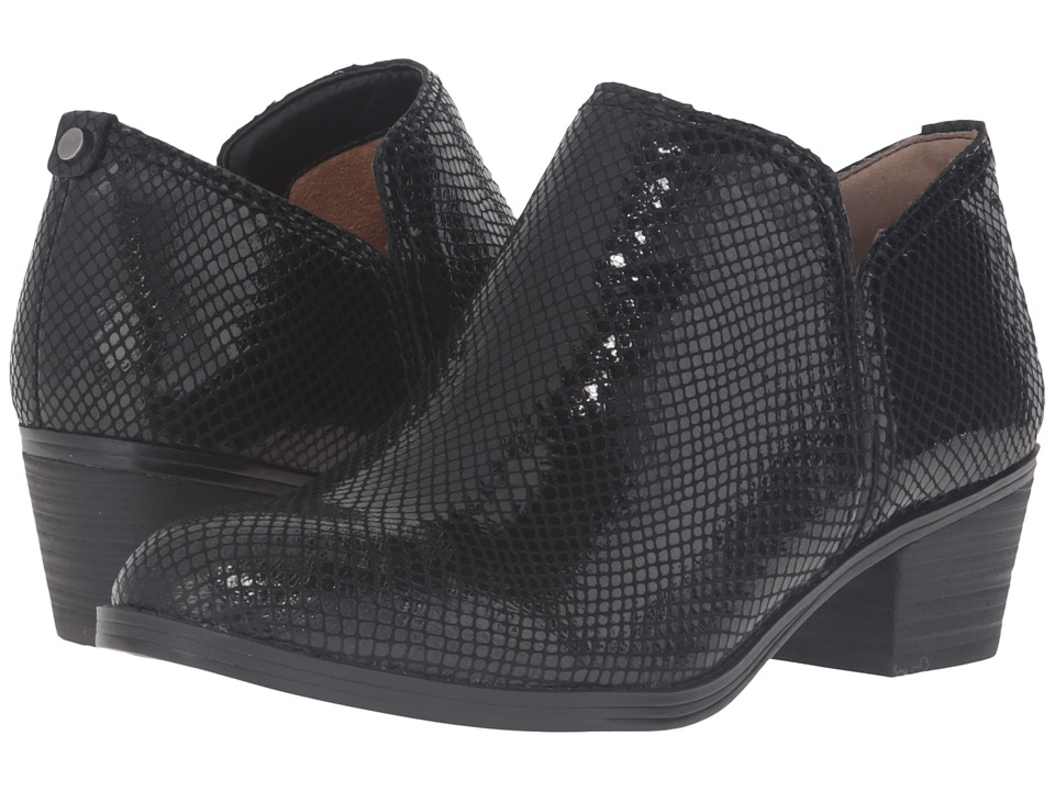 Naturalizer - Zarie (Black Printed Snake) Women