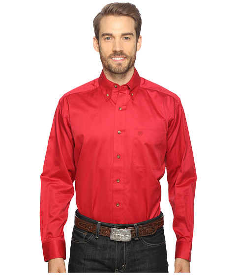 Ariat Solid Twill Shirt - Rouge