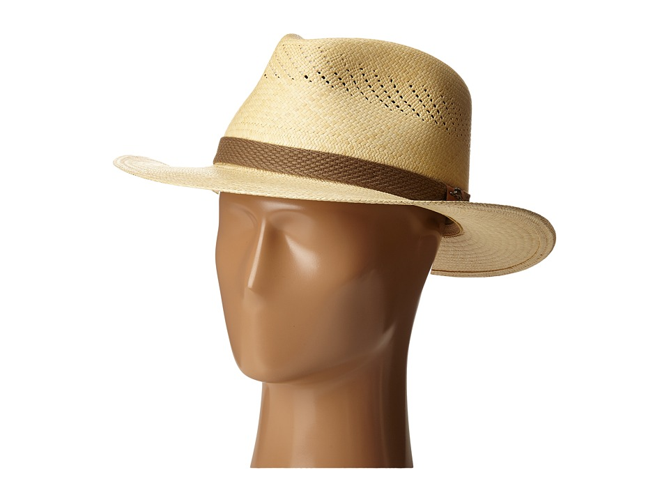 Tommy Bahama - Panama Vent Outback (Natural) Caps