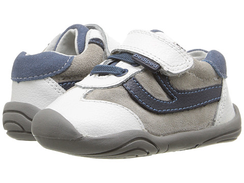 pediped Cliff Grip n Go (Toddler) - White/Navy