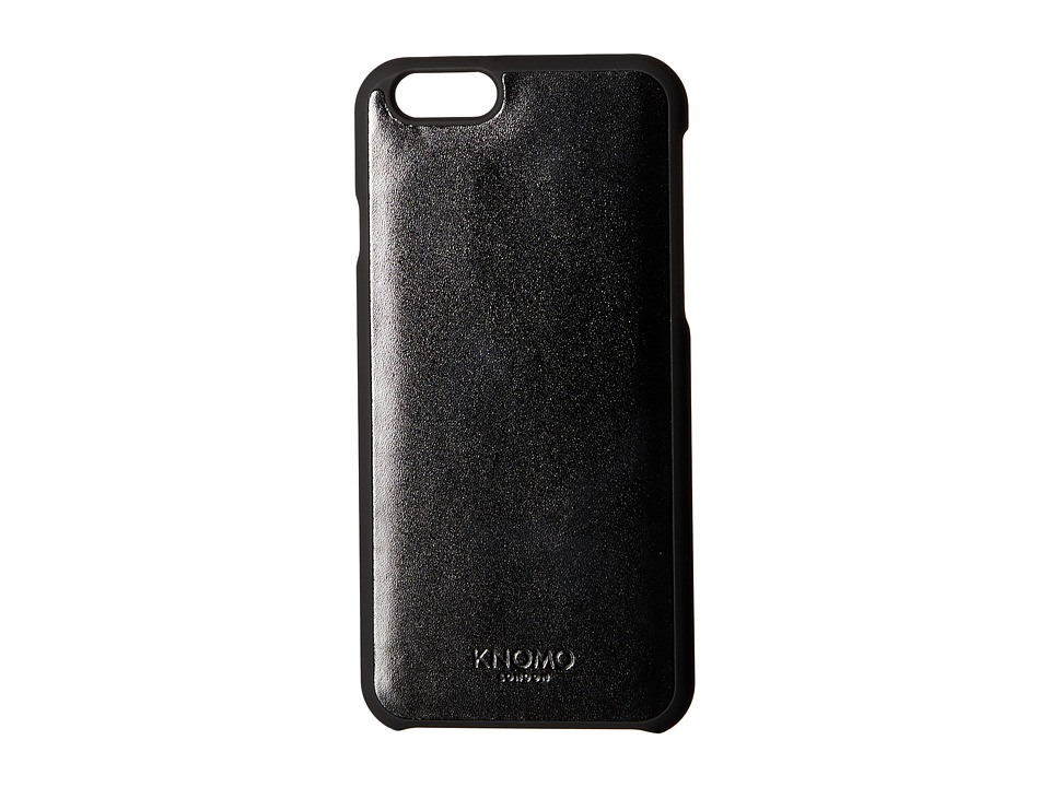 KNOMO London - Magnet Open Face iPhone 6/6s Case (Black) Cell Phone Case